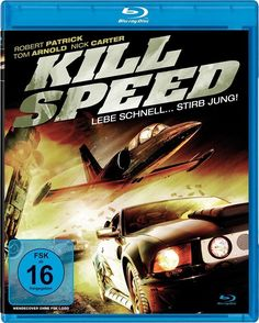 KILL SPEED - LEBE SCHNELL... STIRB JUNG! [Blu-ray ] Tom Arnold, Nick Carter