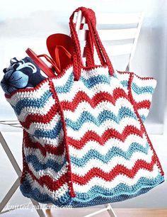 6 Free Crochet Beach Bags Patterns More