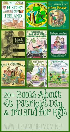 If you need some ideas for books about St. Patrick's Day be sure to check out this list of 20+ books about St. Patrick's Day for kids.