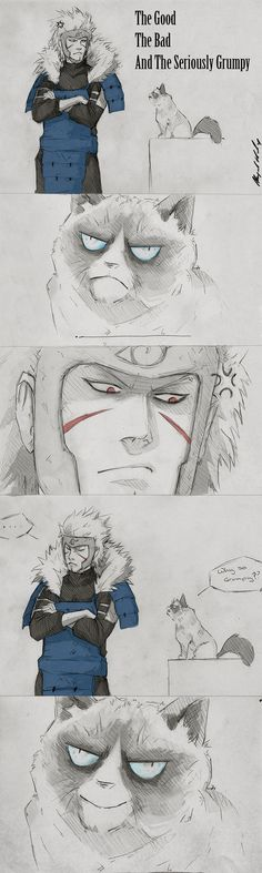 The Good The Bad And The Seriously Grumpy by Abz-J-Harding.deviantart.com on @deviantART
