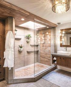 Home Design Decor, Dream Home Design, Bathroom Interior Design, House Design, Design Ideas, Interior Livingroom, Diy Design, Dream Bathrooms, Dream Rooms