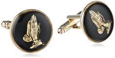 Round Enamel With Praying Hands Cufflinks http://astore.amazon.com/ahoy-20/detail/B00J03ZV6G