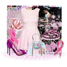 """Breast Cancer Awareness"" by sisilem on Polyvore"