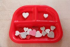Sorting Hearts By Size - Re-pinned by @PediaStaff – Please Visit http://ht.ly/63sNt for all our pediatric therapy pins