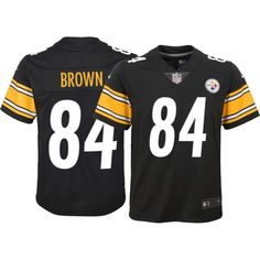 Nike Youth Home Limited Jersey Pittsburgh Antonio Brown  84 734695c5343