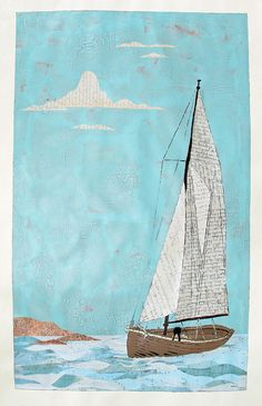 Your Letters Have Been the Wind in my Sails by Amy Rice, via Flickr