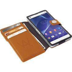 Walk On Water Drop Off Wallet till Sony Xperia Z3 Compact - Orange Pris: 299 SEK