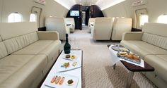 Table setting for business aviation clients is part of our VIP flight attendant training. Details at www. Private Plane, Private Jets, Avion Jet, Boeing Business Jet, Private Jet Interior, Luxury Concierge Services, Private Flights, Contemporary Cabin, Luxury Jets