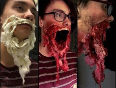 Wow this is art 🖤🖤😍😍😱😱😱 Horror Makeup, Zombie Makeup, Scary Makeup, Sfx Makeup, Halloween Kostüm, Halloween Cosplay, 31 Days Of Halloween, Halloween Costumes, Zombie Walk