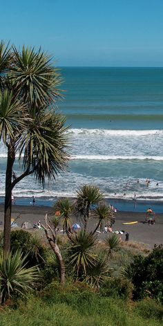 Raglan – Ngarunui Beach, The North Island, New Zealand