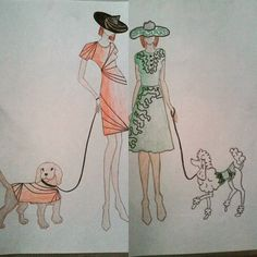 #dogswear #dog #fashion #draw #drawing #fashion #design #designer #style #stylist #fashiondesign #fashiondesigner #illustration #fashionillustration #hat