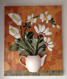Mosaico com louças/ mosaic picassiette. By Schandra