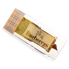 バーバリーズの純金製しおりです。 本や手帳の間にサッと挟んで便利にお使い頂けますが、純金製になっているので、使うたびに高級感を感じて頂けますよ。 詳細はこちら>http://bbl-shop.com/?pid=79960805