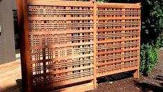 Cedar WoodWay Catalina Lattice Privacy Screen, Corvallis : TnT Builders