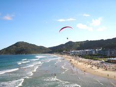 Florianopolis, Brazil on The World's Top 20 Cities, According to That Dude Who's Visited 198 Countries - Thrillist Brazil Beaches, Countries Of The World, Dream Vacations, My Dream, Mountains, Country, City, Water, Places