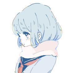 Anime, kawaii, and art image Manga Kawaii, Kawaii Anime Girl, Anime Art Girl, Anime Girls, Anime Chibi, Manga Anime, Art Manga, Manga Girl, Art Anime Fille