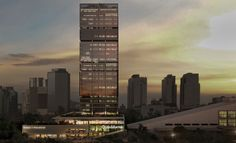 Corporativo Andares Skyline, Offices, Skyscraper, Multi Story Building, Skyscrapers, The Office, Corporate Offices