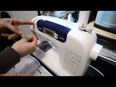 Threading the Brother cs6000i Sewing Machine - YouTube