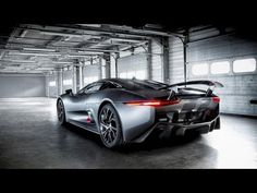 Jaguar C-X75 Hybrid Supercar - Following the highly successful introduction of the C-X75 supercar to the media for test evaluation in June 2013, Jaguar is releasing a behind-the-scenes film of the car's development: C-X75 -- A hybrid supercar prototype without equal.