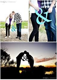 Engagement photo ideas- holding a symbol
