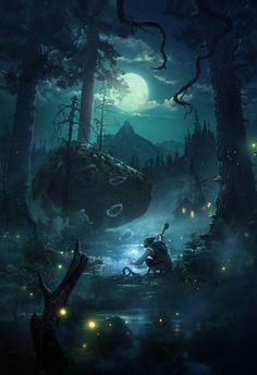 Fantasy art by Tuomas Korpi.
