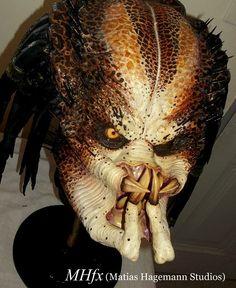 Depredador clásico de jungla (busto finalizado)!!!!  Classic jungle Predator (finished bust) by Matías Hagemann!!!!