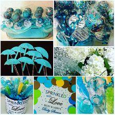 Cakepop favors for a sprinkled with love themed baby shower; design by Davis Floral Creations Baby Shower Themes, Larry, Sprinkles, Favors, Love, Floral, Artwork, Design, Florals