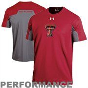 Under Armour Texas Tech Red Raiders Contender Performance T-Shirt - Scarlet/Gray