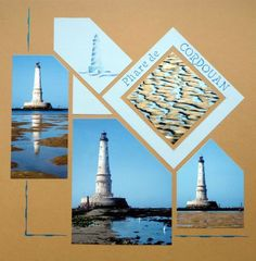 lighthouse scrapbook pages   Brussels-Mexico Duo. GAB 706