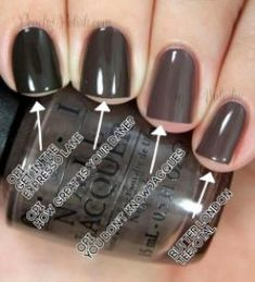wesentliche Dinge für Nagellackfarben Winter Opi 2018 58 – – – – – essential things for nail polish colors Winter Opi 2018 58 – – – – – … Grey Nail Polish, Gray Nails, Uv Gel Nail Polish, Nail Polish Colors, Opi Polish, Nail Nail, French Nail Designs, Winter Nail Designs, Aloe Vera