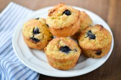 A yummy, quick recipe for Gluten-Free Lemon Blueberry Muffins that will be a delight to serve your family. Perfect for breakfast, brunch, or snack.