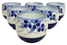 Chinese Tea Cups, S/6 on OneKingsLane.com