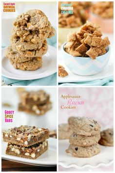 So many great Fall recipes! Spice cake cookies, Caramel Churro Chex Mix (OMG), Caramel Apple Oatmeal Cookies...I want to try them all this Fall.