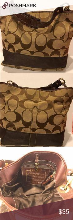 Coach Bucket Bag Authentic Coach bag. Normal use. Good condition Coach Bags Totes