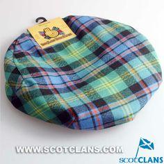 Clan Watson Wool Tartan Cap