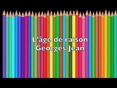 Poésie De Georges Jean ... L' âge de raison ...