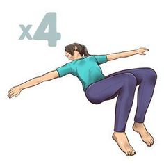 Reduce Back Pain With These 1 Minute Stretching Exercises - Myeva for Healthcare, Skin care & Beauty Night Workout, Workout List, Workouts, Back Pain Exercises, Stretching Exercises, Yoga Fitness, Health Fitness, Stretching Program, Sixpack Workout