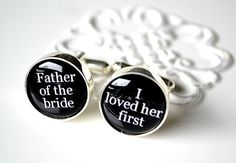 Great gift for your father. Don't forget to honor your parents on your wedding day, it's a very important day for them too, and very emotional. Remind them that you loved them first.