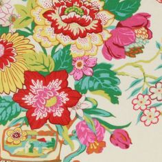 Robert Allen ELIZAS GARDEN BLOSSOM Fabric
