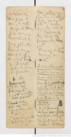 Is this the same page, in the large Kirby, that is open in The Morgan exhibit??? Fonds Marcel Proust. II — À LA RECHERCHE DU TEMPS PERDU. A — Manuscrits autographes. XXVII-XXX Carnets de notes. XXX Notes rédigées entre 1915 et 1917