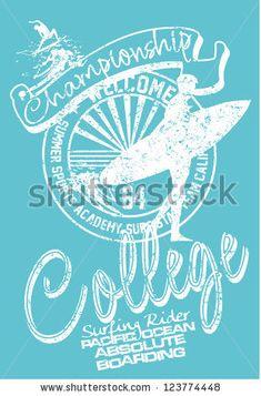 #surfer #surfing #surfboard #surfboarding #vector #college #academy #artdirector…