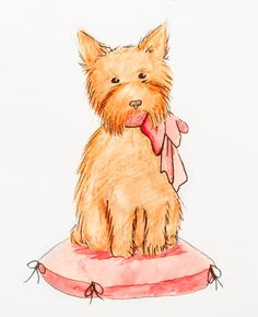 Too adorable!  Digital download Custom watercolor pet portrait of your pet by AlyssaNoelTheArtist on #Etsy, Perfect for avatars, mugs, gifts, stationary and more!  $20.00 #art #dogs #illustration #petportraits #puppy