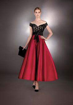 Vestido de Fiesta de Hannibal Laguna Atelier (TOTEM), medio
