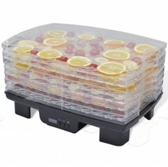 Food Dehydrator with 6 Stackable Trays (Rectangular) Cooking Baking Accessories    Grab this Great Novelty. At Luxury Home Brands WE always Find Great Stuff for you :)