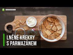 Recept: Lněné krekry s parmazánem Cereal, Paleo, Breakfast, Food, Morning Coffee, Essen, Beach Wrap, Meals, Yemek