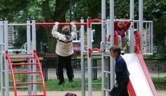 Szczecin: plac zabaw w parku Andersa