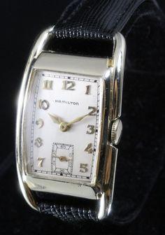 1938 Hamilton Sutton Vintage Men's Watch from vintagewatches on Ruby Lane