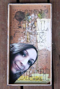 #MixedMediaMontag Shadowbox-Tutorial von Svenja Friedrich für www.danipeuss.de
