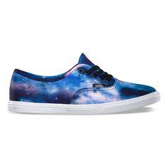Vans Cosmic Galaxy Authentic Lo Pro I want these sooooooo bad.