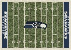 Seattle Seahawks Home Field Area Rug